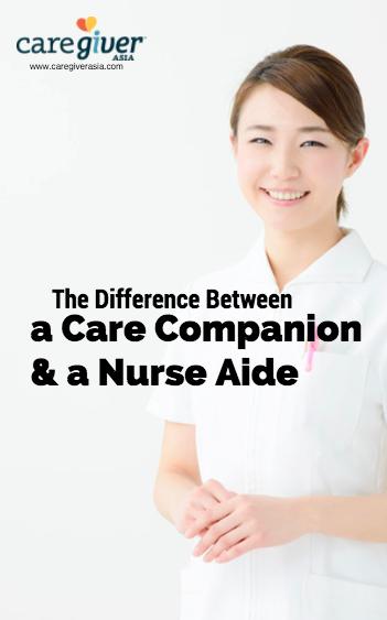 CaregiverAsia care companion and nurse aide printable