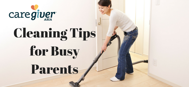 Cleaning Tips for Busy Parents printable