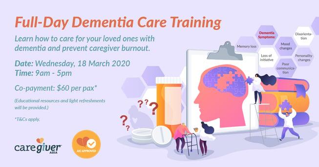 CGA Full-Day Dementia Training EDM 18 Mar