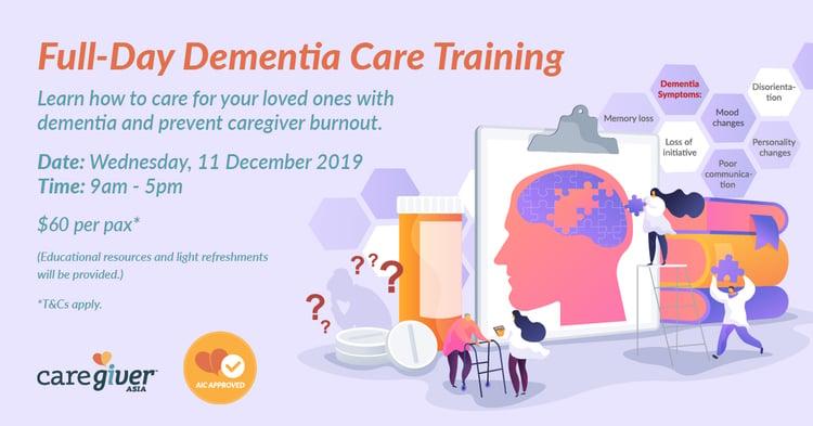 CGA Full-Day Dementia Training Dec 2019