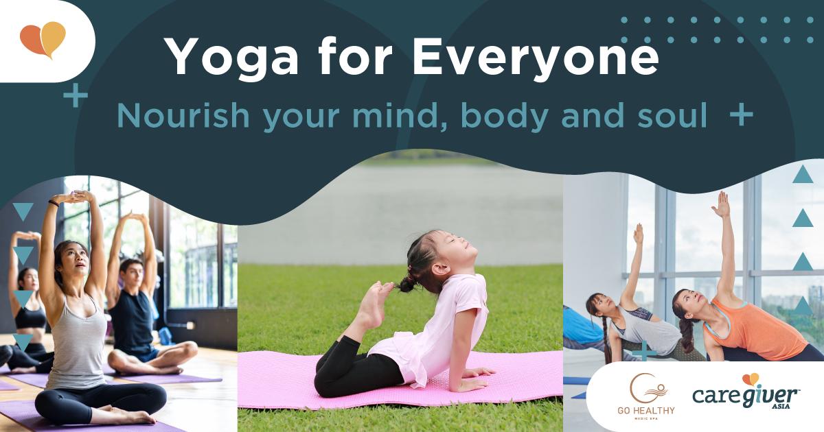 Yoga classes for everyone