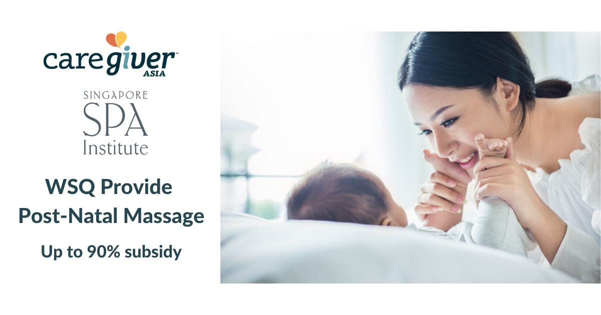 WSQ Provide Post-Natal Massage